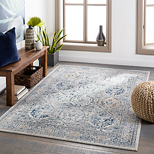 "Home Accent Pennie 5'3"" x 7'3"" Area Rug, Black/Gray, rollover"