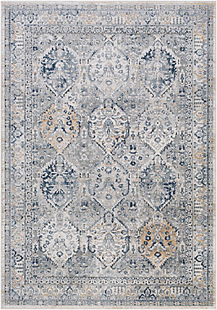 "Home Accent Pennie 5'3"" x 7'3"" Area Rug, Black/Gray, large"