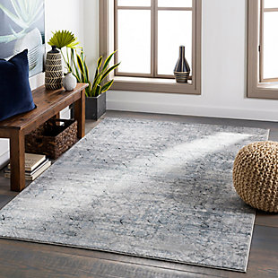 """Home Accent Jay 5'3"""" x 7'3"""" Area Rug, Black/Gray, rollover"""