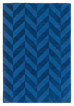 Home Accents Artistic Weavers Central Park Carrie Rug 3' x 5', Blue, large