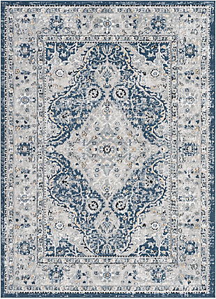 "Home Accent Deandre 5'3"" x 7'3"" Area Rug, Blue, large"