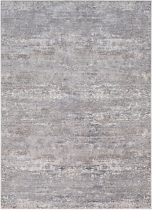 """Home Accent Garnet 5'3"""" x 7'3"""" Area Rug, Black/Gray, large"""