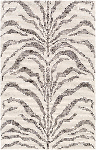 "Home Accent Suzann 5' x 7'6"" Area Rug, Brown/Beige, large"