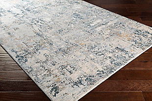 "Home Accent Mckinley 5' x 7'5"" Area Rug, Black/Gray, rollover"