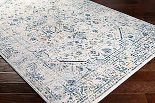 """Home Accent Inger 5' x 7'5"""" Area Rug, Blue, rollover"""