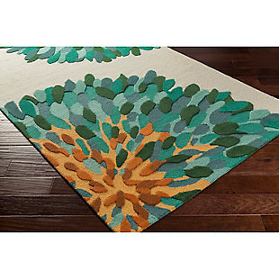 Home Accents Artistic Weavers Pollack Susannah Rug 4' x 6', Green, rollover