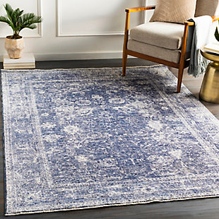 "Home Accent Ruthann 5' x 8'2"" Area Rug, Blue, rollover"