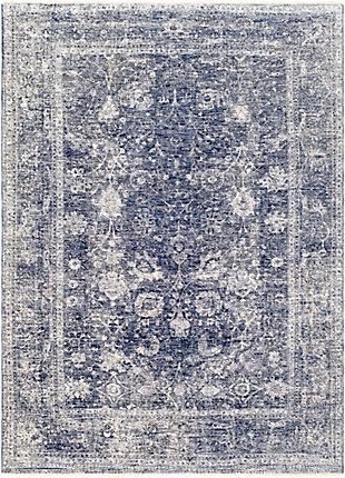 "Home Accent Ruthann 5' x 8'2"" Area Rug, Blue, large"