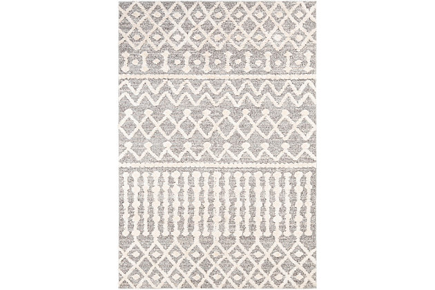 "Home Accent Nadia 5'3"" x 7'3"" Area Rug, Brown/Beige, large"