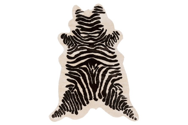"Home Accents Artistic Weavers Zadie Zebra 5' x 6'6"", , large"