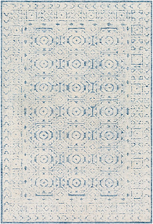 "Home Accent Lovetta 5' x 7'6"" Area Rug, Blue, large"