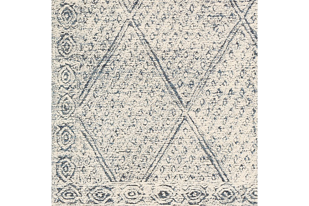 """Home Accent Sina 5' x 7'6"""" Area Rug, Blue, large"""