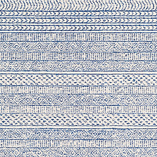 "Home Accent Hilary 5' x 7'6"" Area Rug, Blue, large"