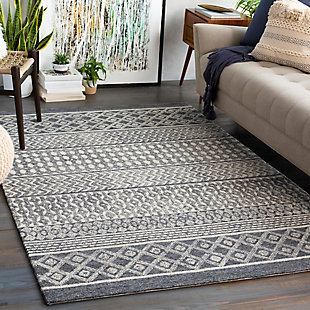 "Home Accent Carleen 5' x 7'6"" Area Rug, Brown/Beige, rollover"