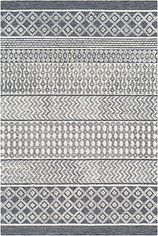 "Home Accent Carleen 5' x 7'6"" Area Rug, Brown/Beige, large"