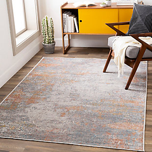 "Home Accent Tamesha 5'1"" x 7'3"" Area Rug, Yellow, rollover"