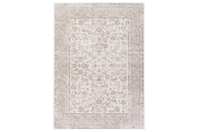 Home Accents Potter Mona Rug 5'3 x 7'3, Gray, large