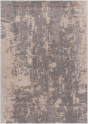 "Home Accent Mellisa 5'1"" x 7'3"" Area Rug, Black/Gray, large"