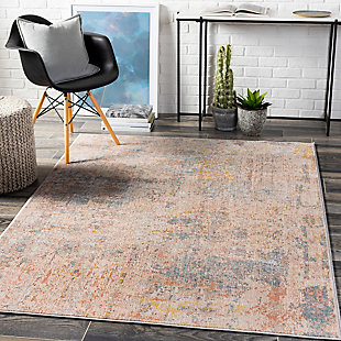 "Home Accent Yvonne 5'1"" x 7'3"" Area Rug, Black/Gray, rollover"
