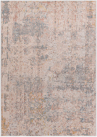 """Home Accent Yvonne 5'1"""" x 7'3"""" Area Rug, Black/Gray, large"""