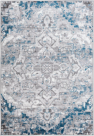 "Surya Monte 5'3"" x 7'3"" Area Rug, Blue, large"
