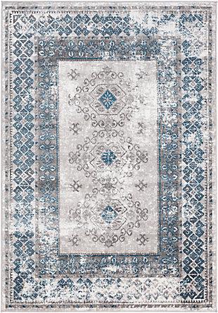 "Surya Monte 5'3"" x 7'3"" Area Rug, Blue, large"