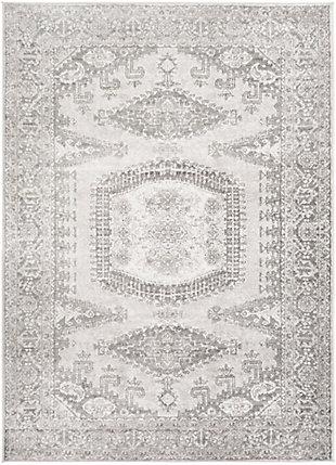 "Surya Monte 5'3"" x 7'3"" Area Rug, Black/Gray, large"