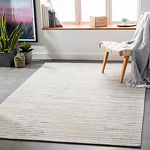 "Home Accent Hardage 5' x 7'6"" Area Rug, Black/Gray, rollover"