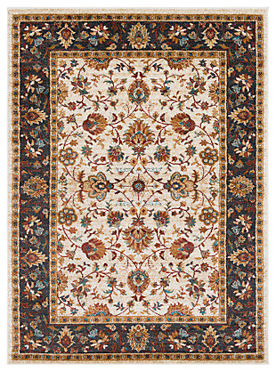 "Home Accents Nicea Flours 6'7"" x 9'6"", Multi, large"