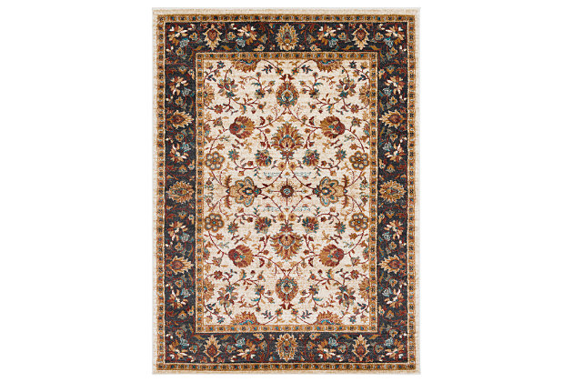 "Home Accents Nicea Flours 5'3"" x 7'3"", Multi, large"