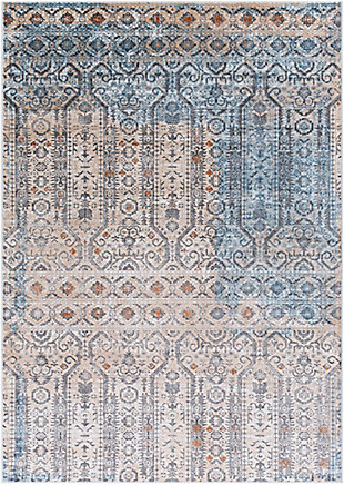 "Home Accent Wimbish 5'3"" x 7'3"" Area Rug, Brown/Beige, large"
