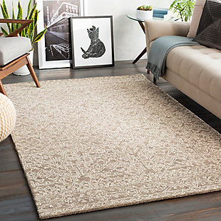 "Home Accent Dewalt 5' x 7'6"" Area Rug, Brown/Beige, rollover"