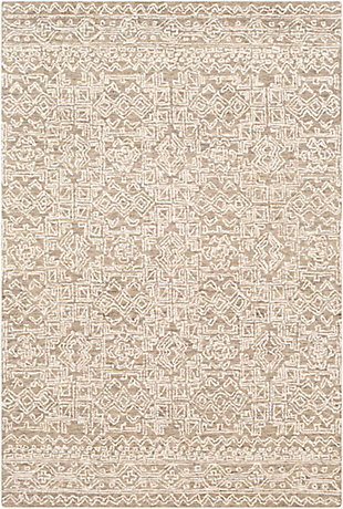 "Home Accent Dewalt 5' x 7'6"" Area Rug, Brown/Beige, large"