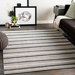 "Home Accent Magallan 5'3"" x 7'3"" Area Rug, Brown/Beige, rollover"