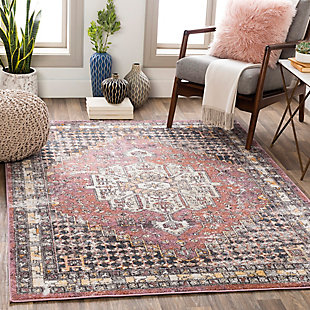 "Home Accent Leech 5'3"" x 7'3"" Area Rug, Purple, rollover"