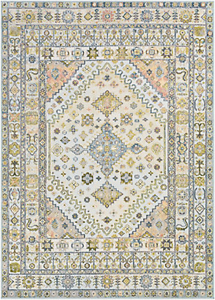 """Home Accent Janusz 5'3"""" x 7'3"""" Area Rug, Green, large"""