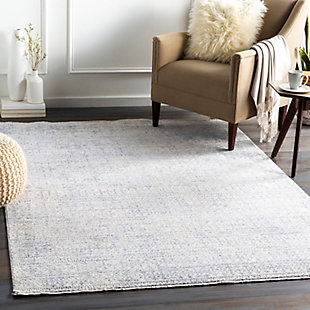 "Home Accent Sammy 5' x 8'2"" Area Rug, Blue, rollover"
