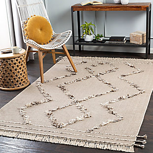 "Home Accent Elliot 5' x 7'6"" Area Rug, Brown/Beige, rollover"