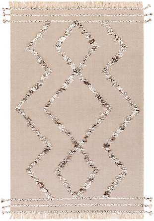 "Home Accent Elliot 5' x 7'6"" Area Rug, Brown/Beige, large"