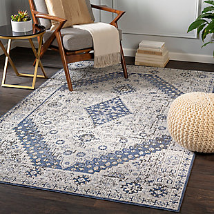 """Home Accent Kellie 5'3"""" x 7'3"""" Area Rug, Brown/Beige, rollover"""