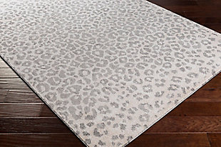 """Home Accent Moshe 7'10"""" x 10' Area Rug, Black/Gray, large"""