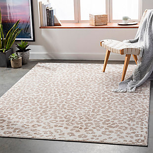 "Home Accent Moshe 5'3"" x 7'3"" Area Rug, Brown/Beige, rollover"