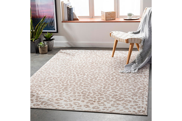 "Home Accent Moshe 5'3"" x 7'3"" Area Rug, Brown/Beige, large"