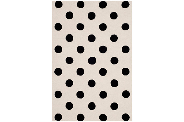 Rectangular 3' x 5' Rug, White, large