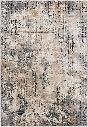"Home Accent Angela 5'3"" x 7'3"" Area Rug, Brown/Beige, large"