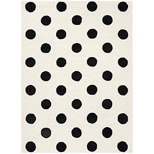 Rectangular 5' x 7' Rug, White, large
