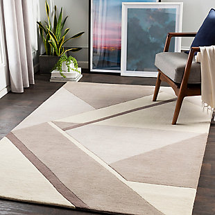 "Home Accent Gracie 5' x 7'6"" Area Rug, Brown/Beige, rollover"