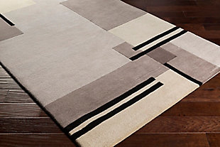 "Home Accent Iraida 5' x 7'6"" Area Rug, Brown/Beige, rollover"