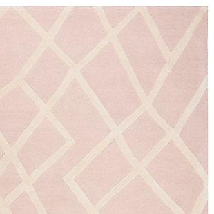 Rectangular 8' x 10' Rug, Pink, rollover