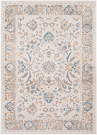 "Surya Rafina 5'3"" x 7'3"" Area Rug, Blue, large"